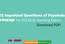 DSSSB-PGT TGT PRT Previous Years Question Papers 10 years